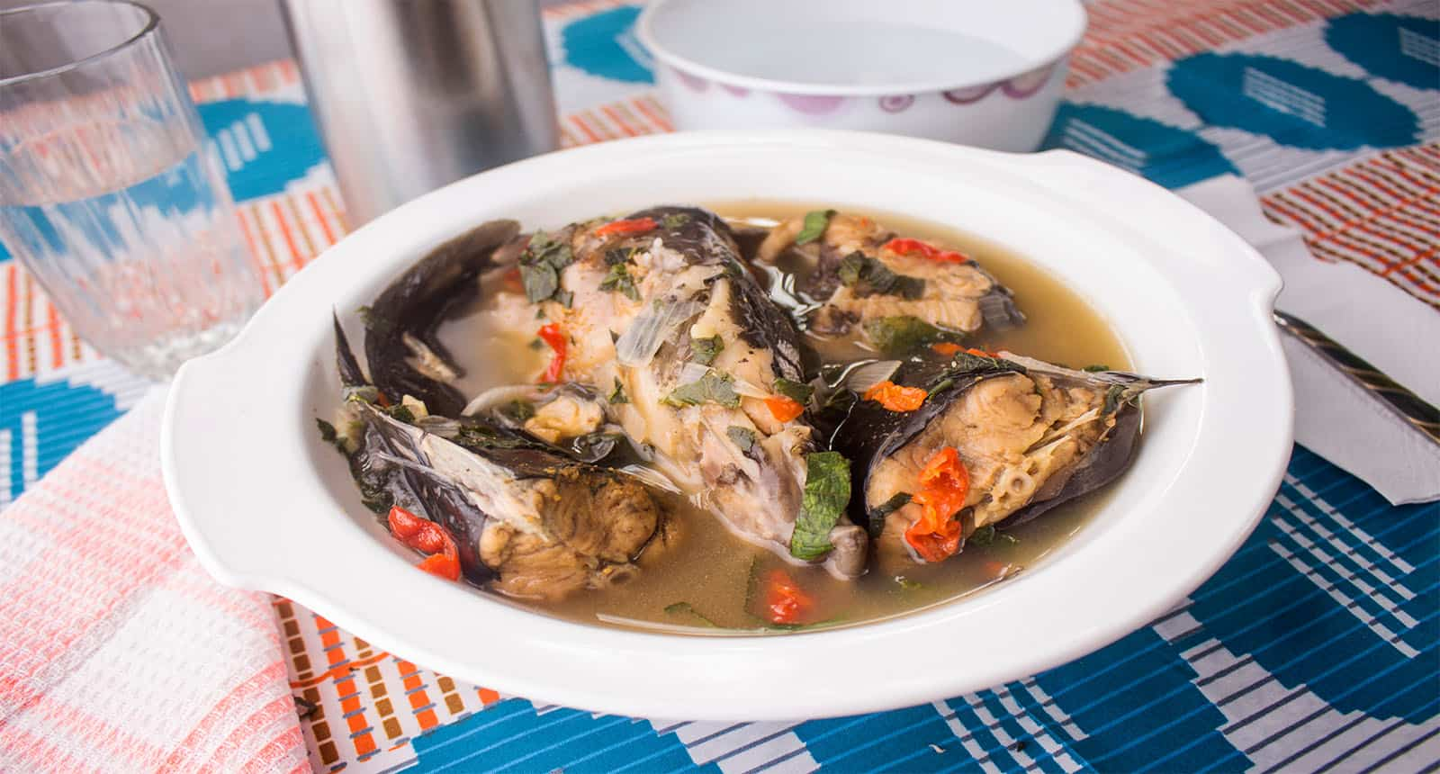 Bowl Delicious Catfish Peppersoup