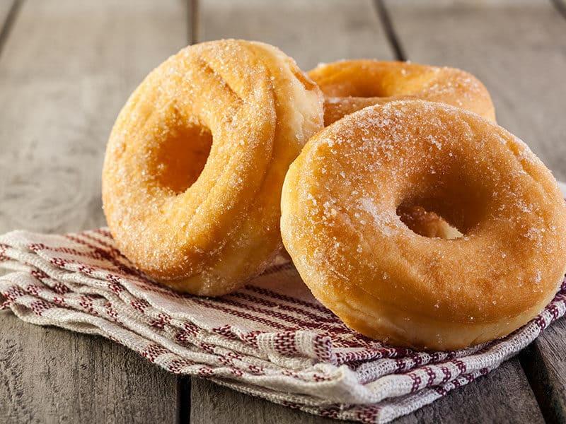 Breakfast Donuts Honey