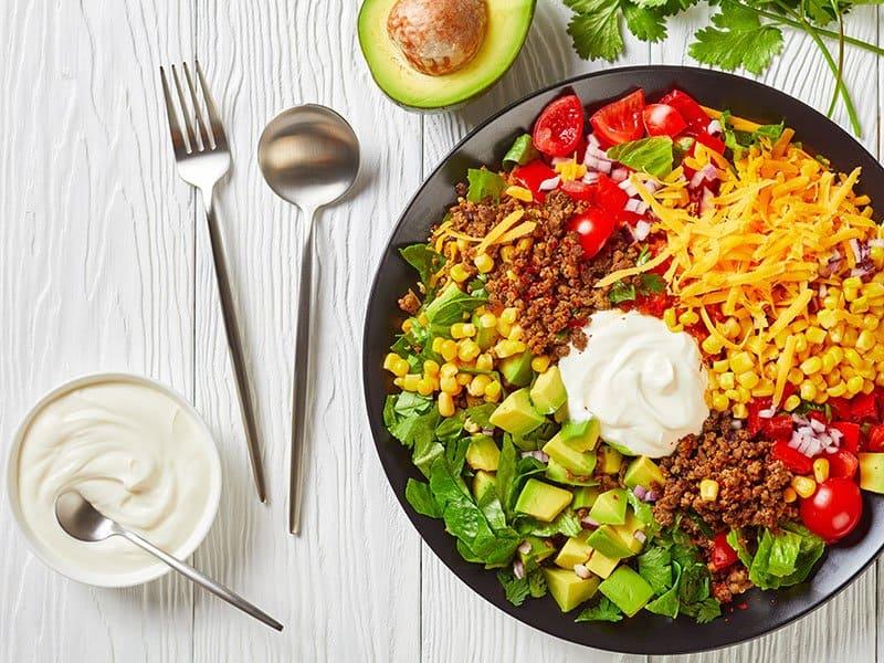 Carb Taco Salad