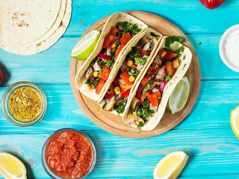 Chicken Marsala Tacos