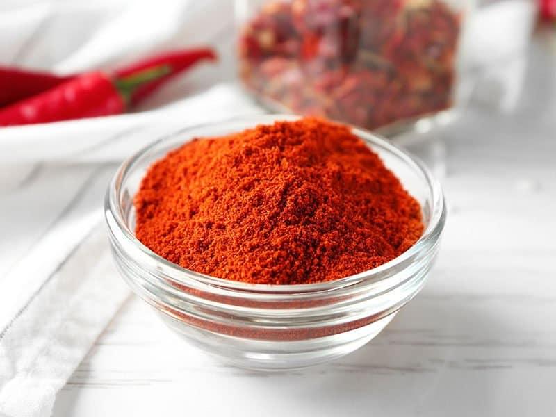 Chili Powder Glass