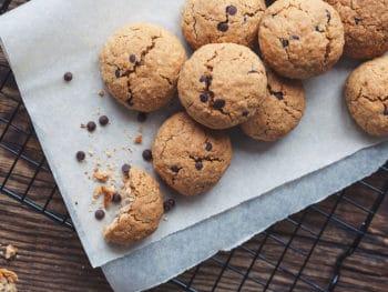 Cookies on Wax Paper