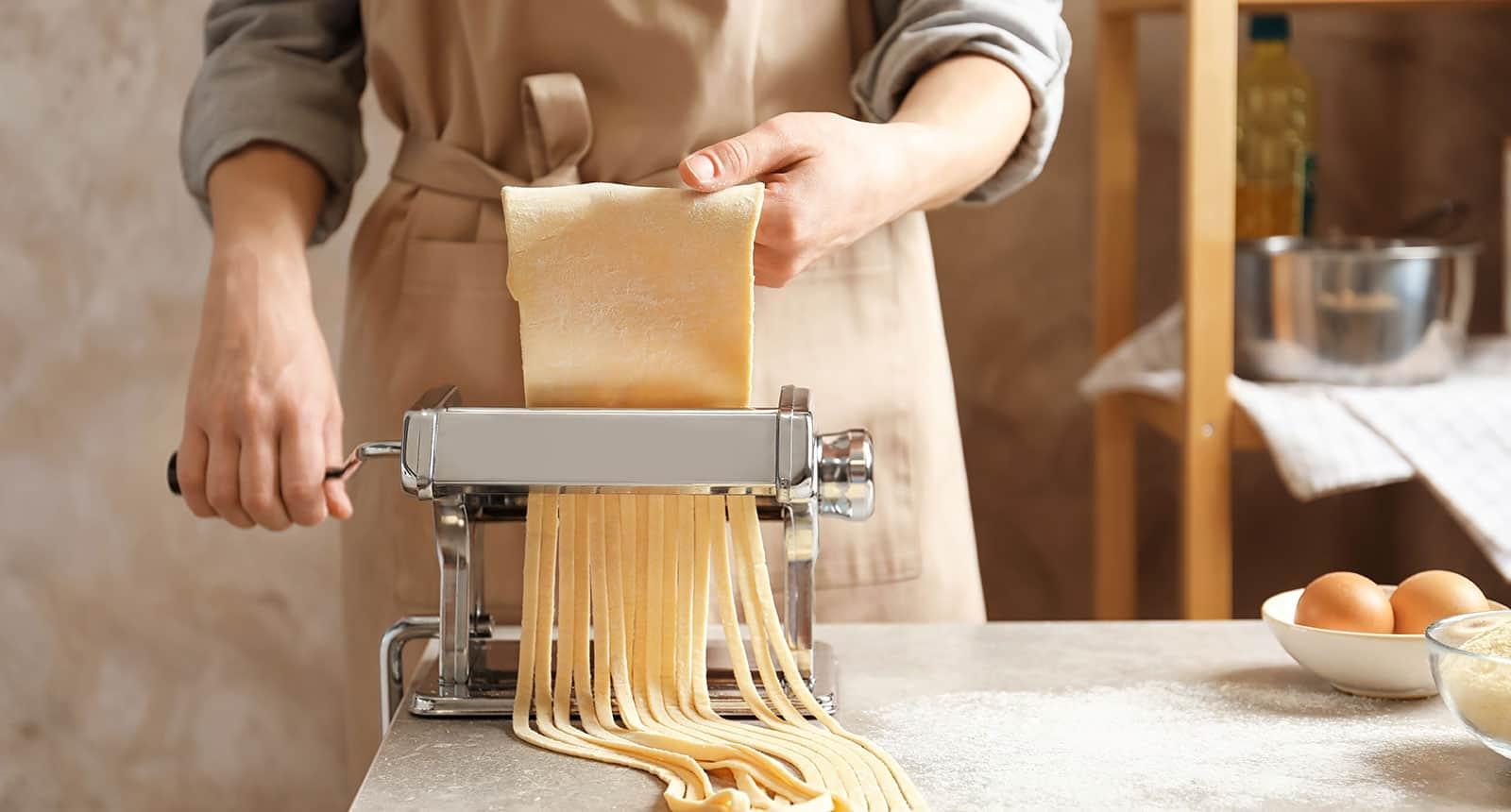 Crank Pasta Machine