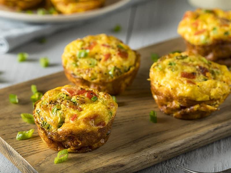 Egg Taco Muffins