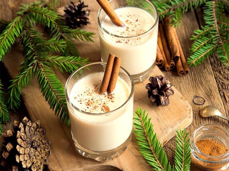 Eggnog Cinnamon Christmas