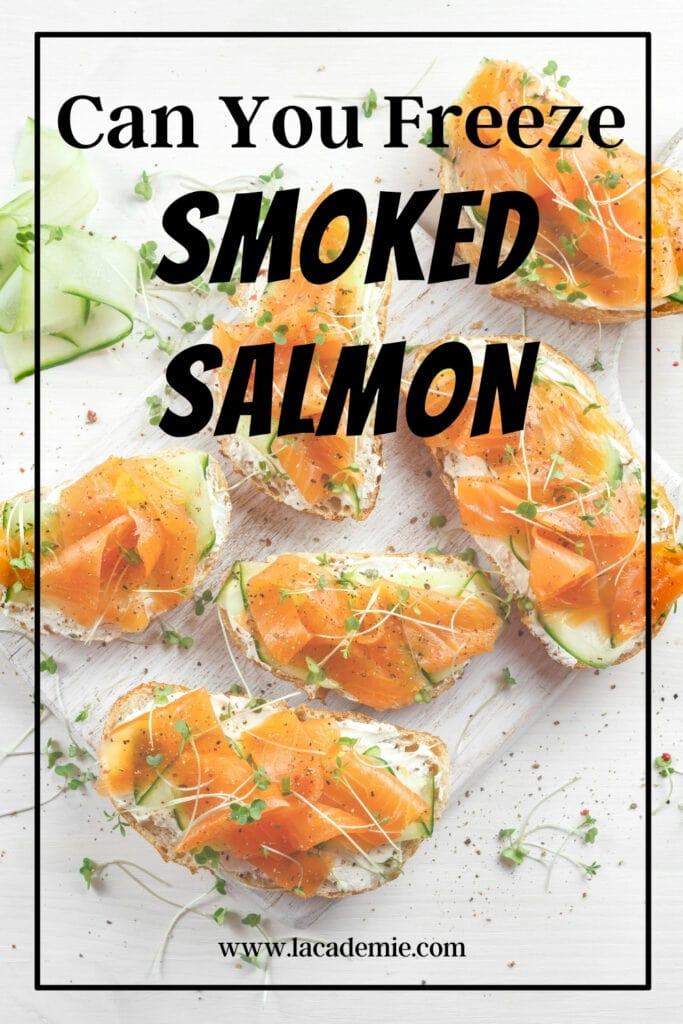 Freeze Smoked Salmon