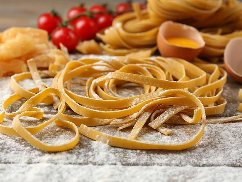 Fresh Pasta with Organic