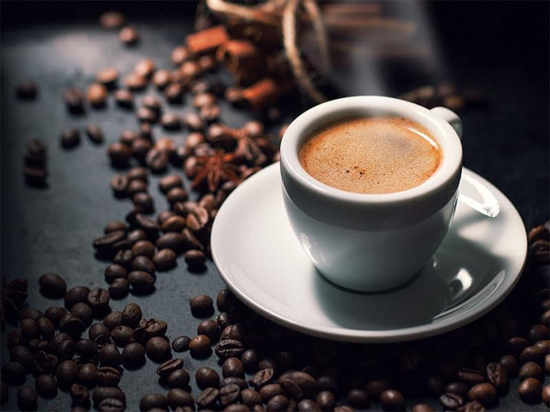 Fresh Tasty Espresso Cup