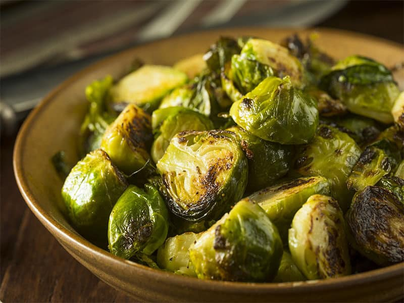 Green Brussel Sprouts Bowl