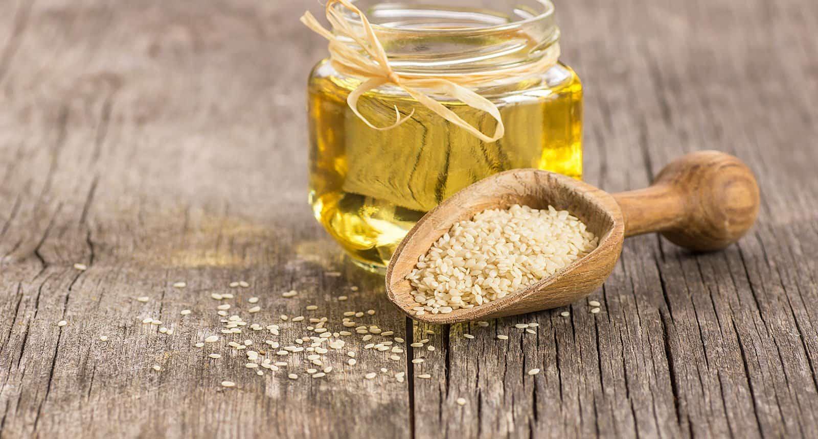 Jar Sesame Oil