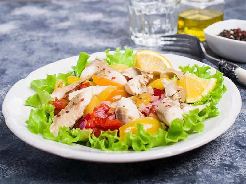 Lingcod Salad
