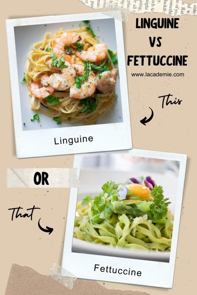Linguine Vs Fettuccine