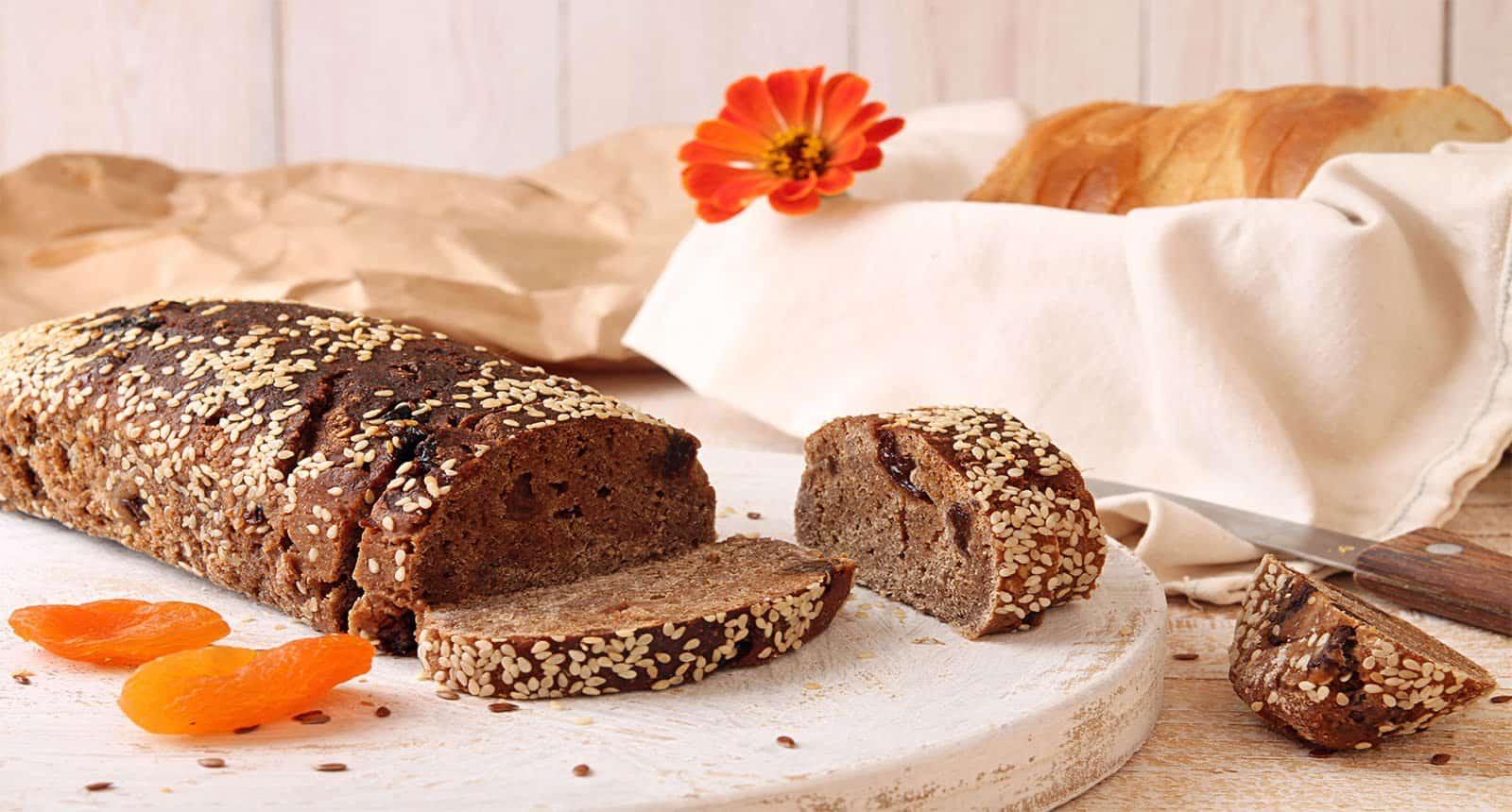 Loaf Slices Rye Unleavened