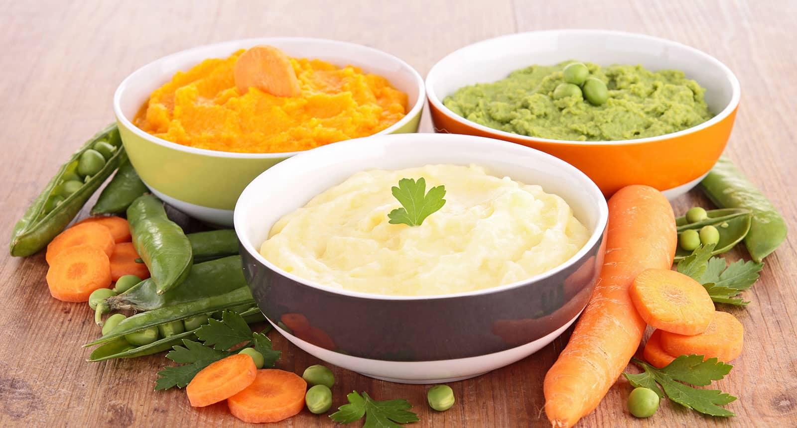 Mashed Vegetables
