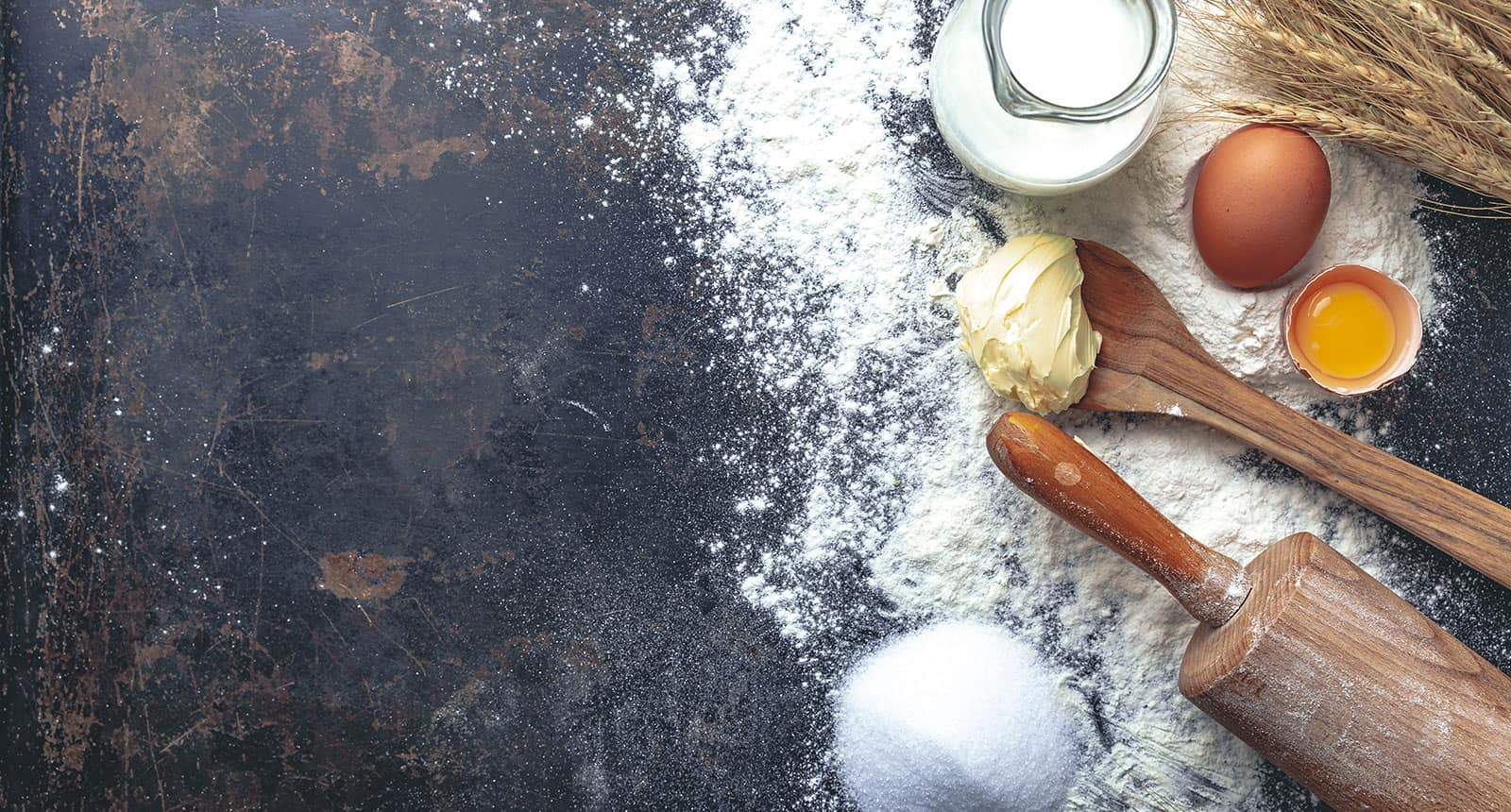 Oil Butter and Flour