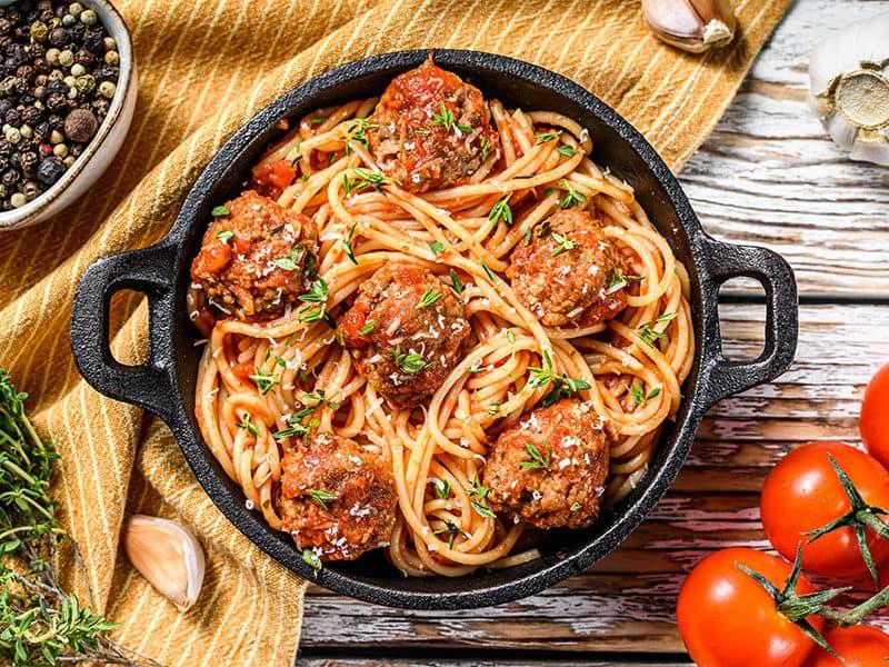 Pasta Spaghetti Tomato