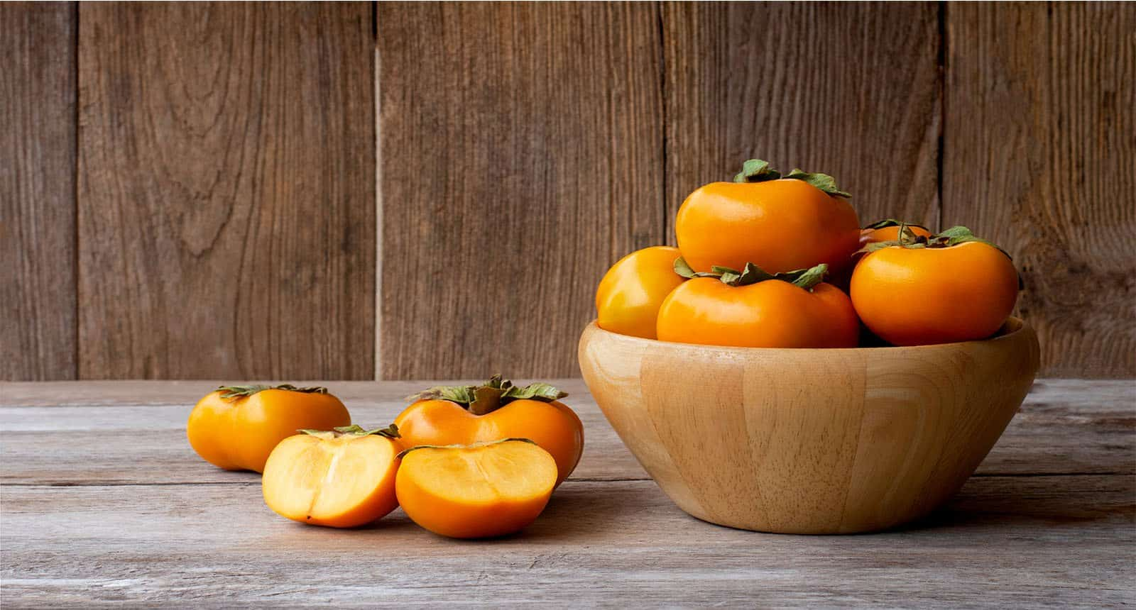 Persimmons Persimon Fruits