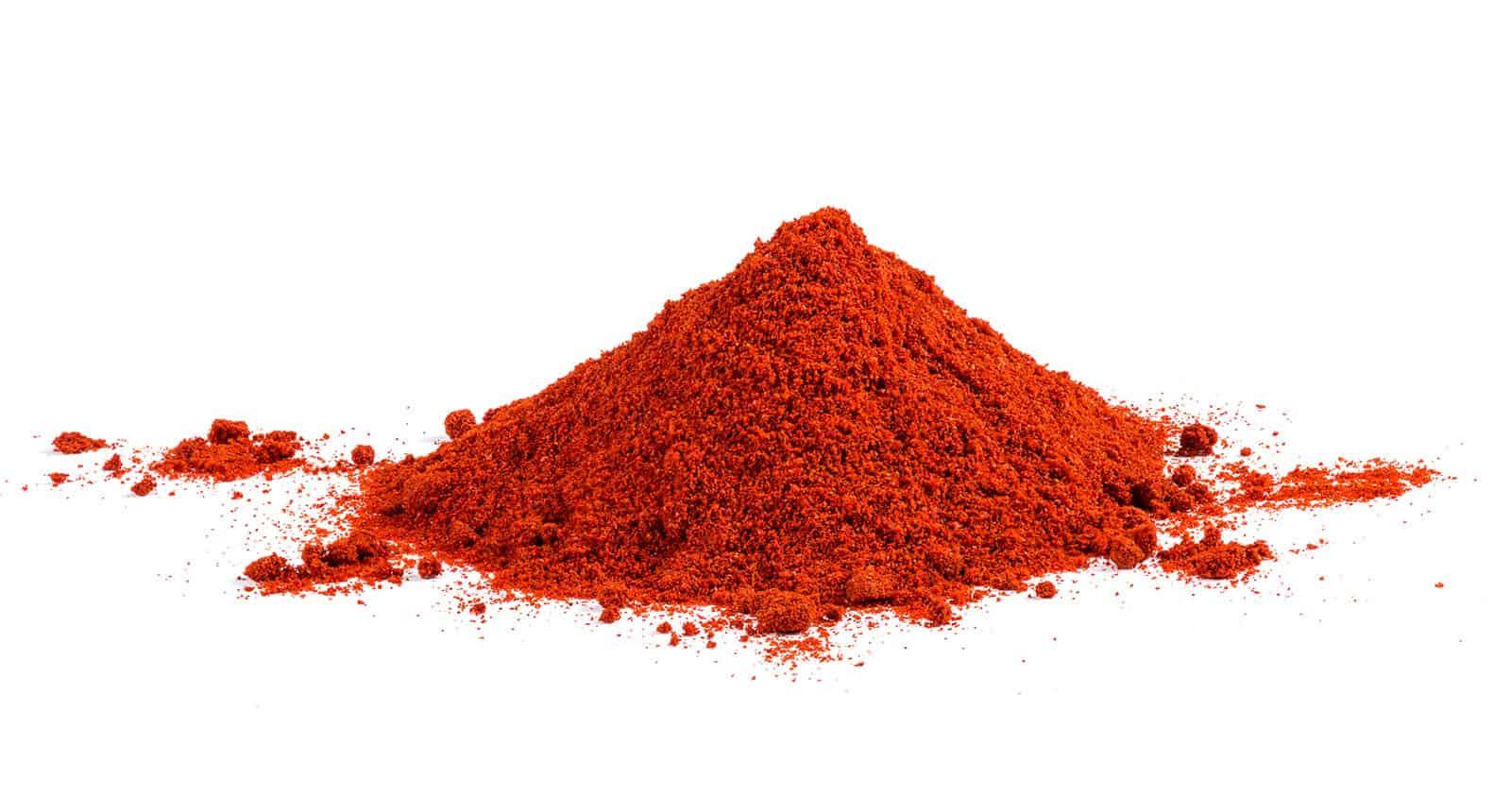 Pile Red Paprika