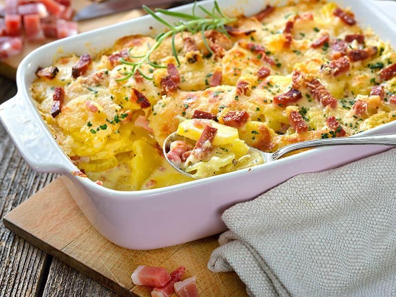 Potato Gratin Parmesan