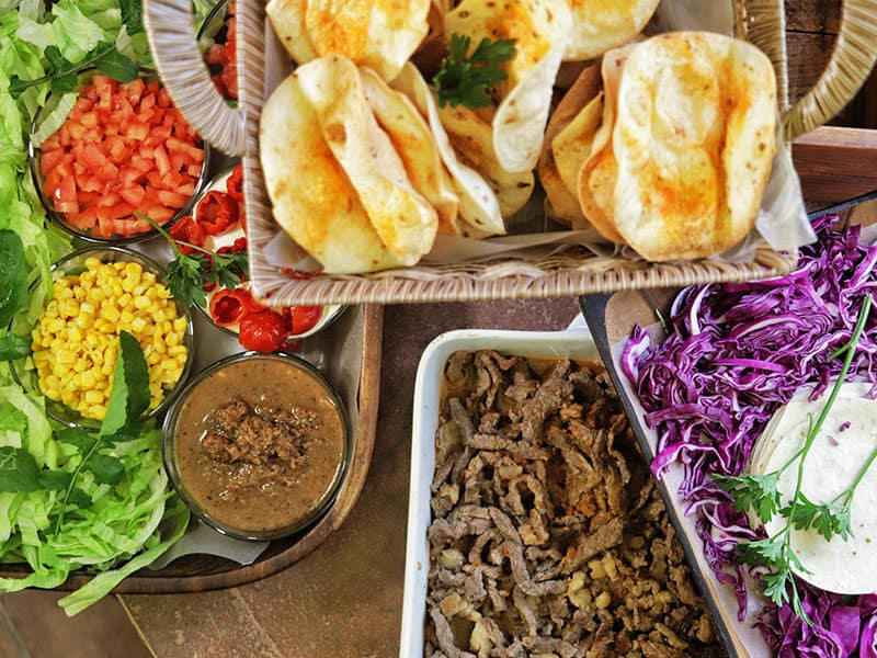 Puffy Beef Tacos