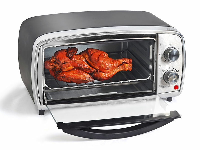 Roast Chicken Microwave Convection