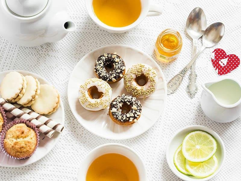 Romantic Breakfast Lemon Green