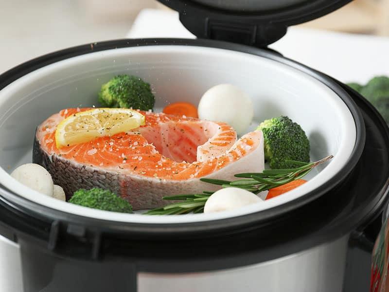 Salmon Steak Garnish Multi