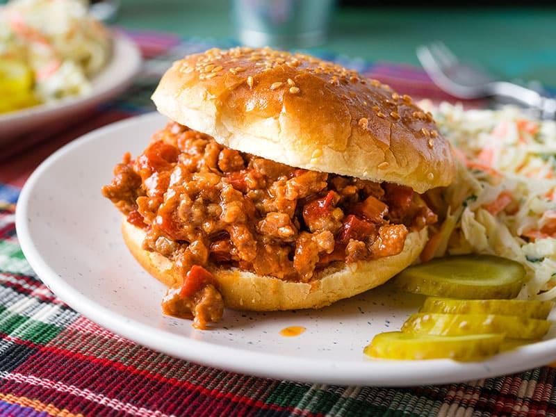 Sloppy Joe Sandwich