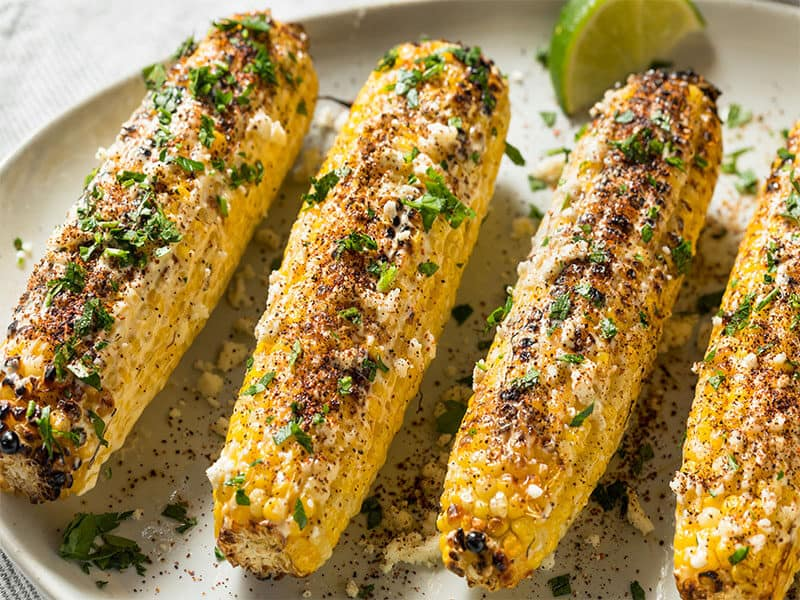 Spicy Elote Mexican Street