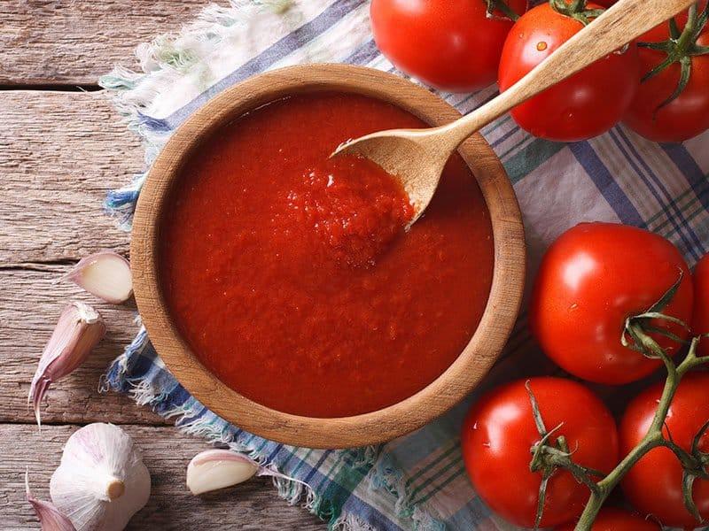 Tomato Sauce Garlic