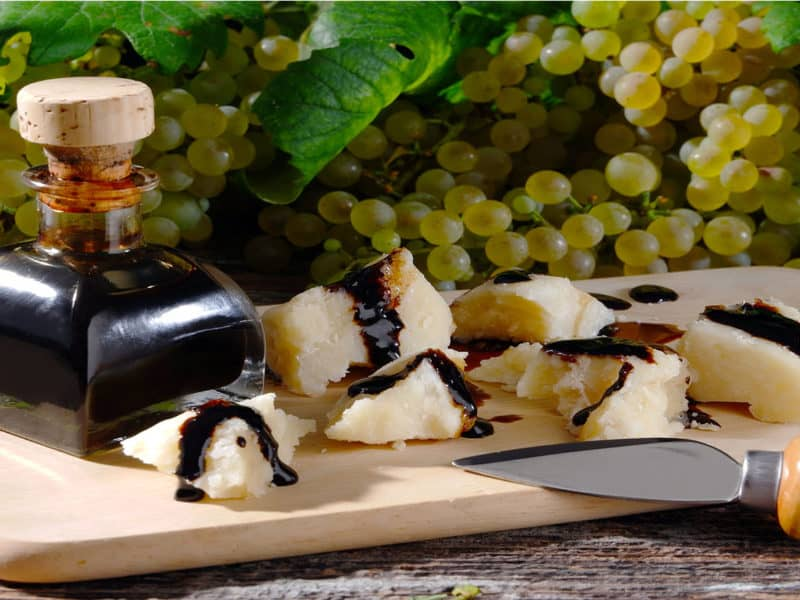 Vinegar Pieces Parmesan Cheese