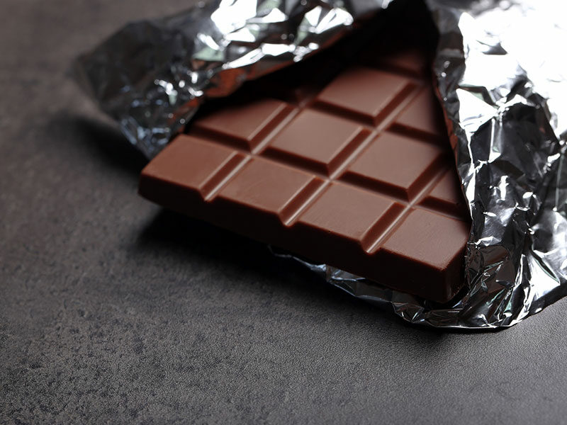 Aluminum Foil Wrap Chocolate