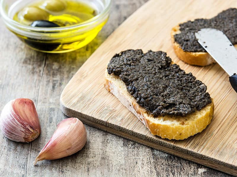 Anchovy Paste And Bread