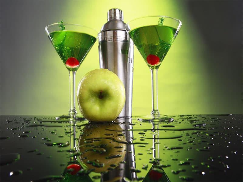 Apple Martini Shaker