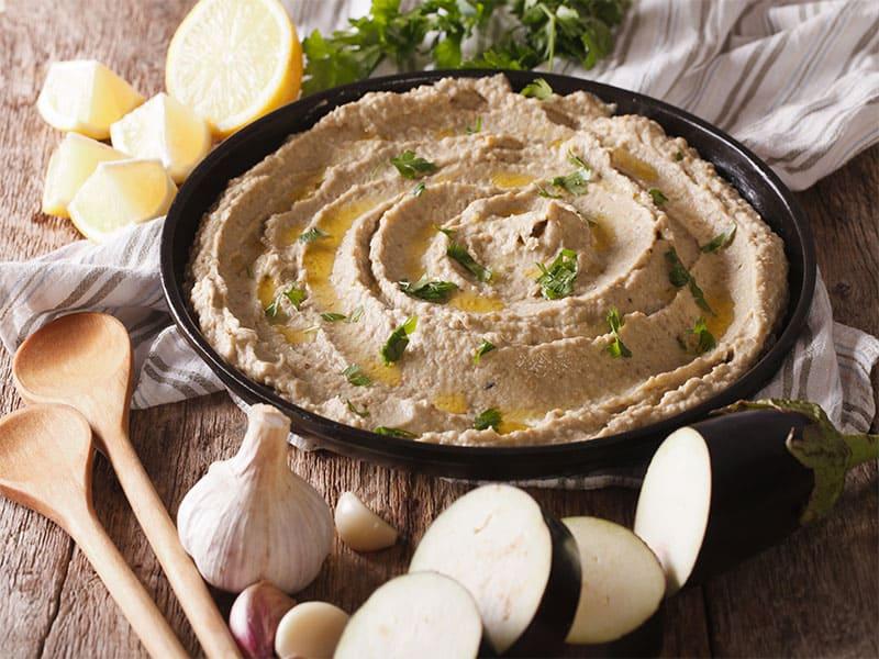 Arabic Food Baba Ghanoush