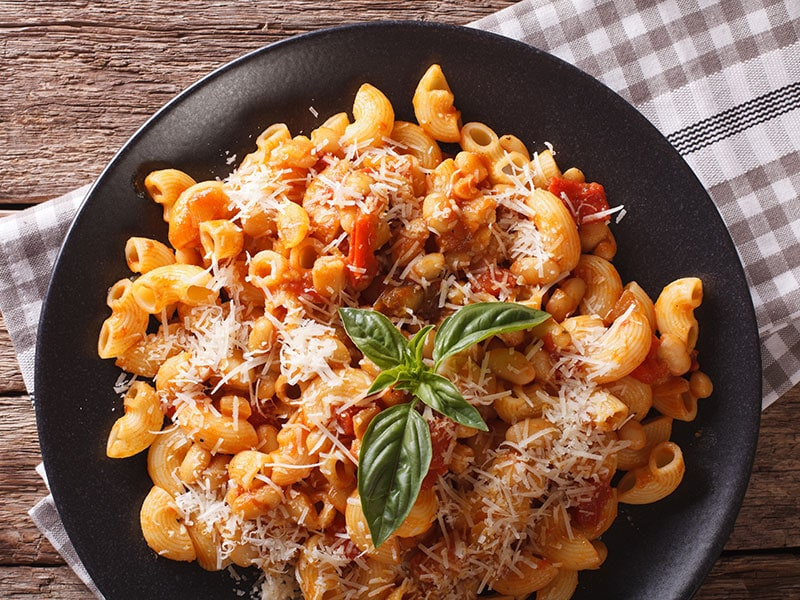 Baked Beans With Pasta