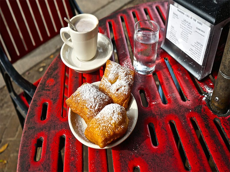 Beignets Hot Cocoa Morning