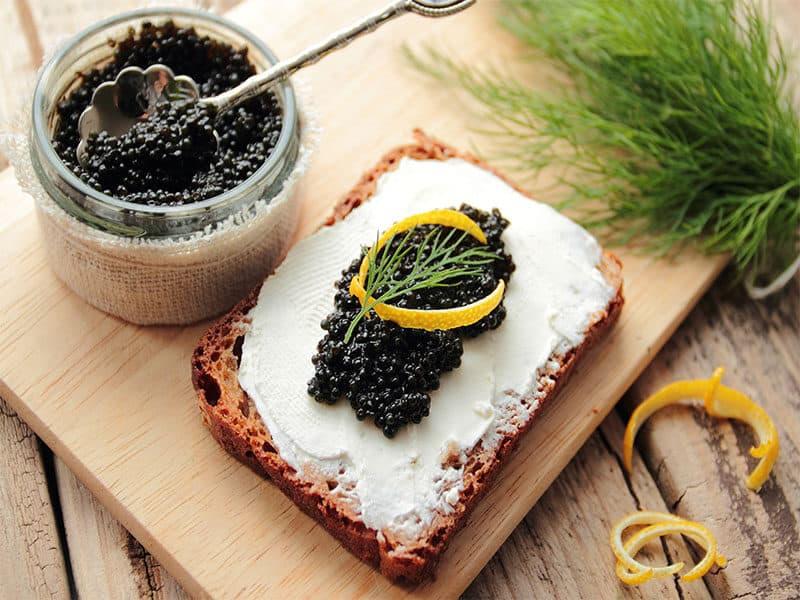 Black Caviar Cream Cheese