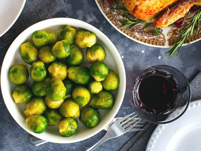 Boiled Brussels Sprout