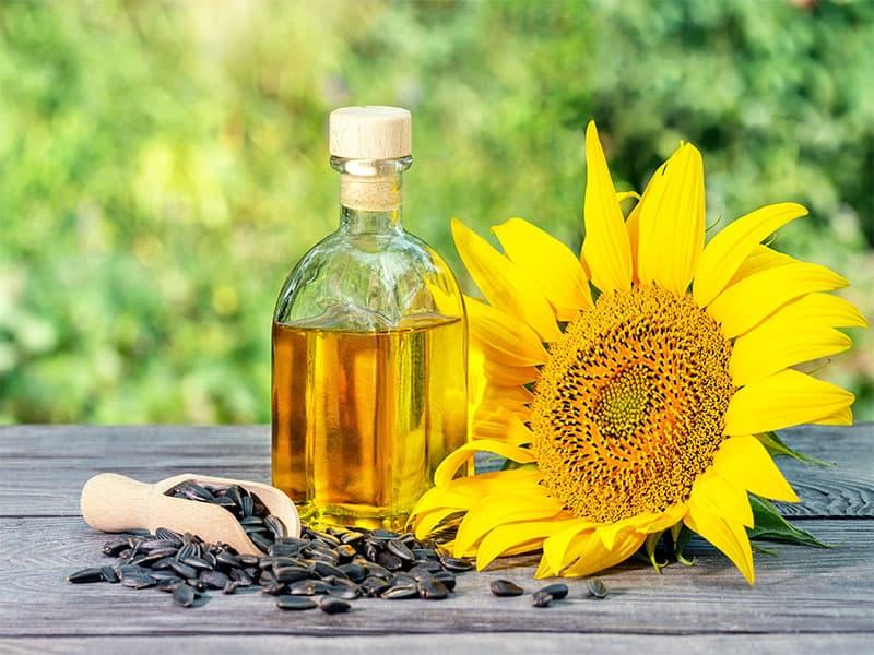 Bottle Sunflower Oil