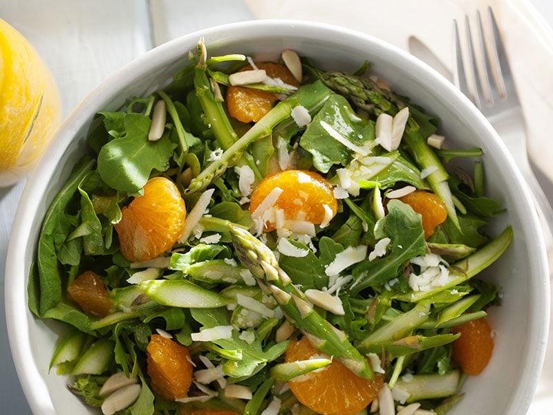 Bowl Of Asparagus Salad