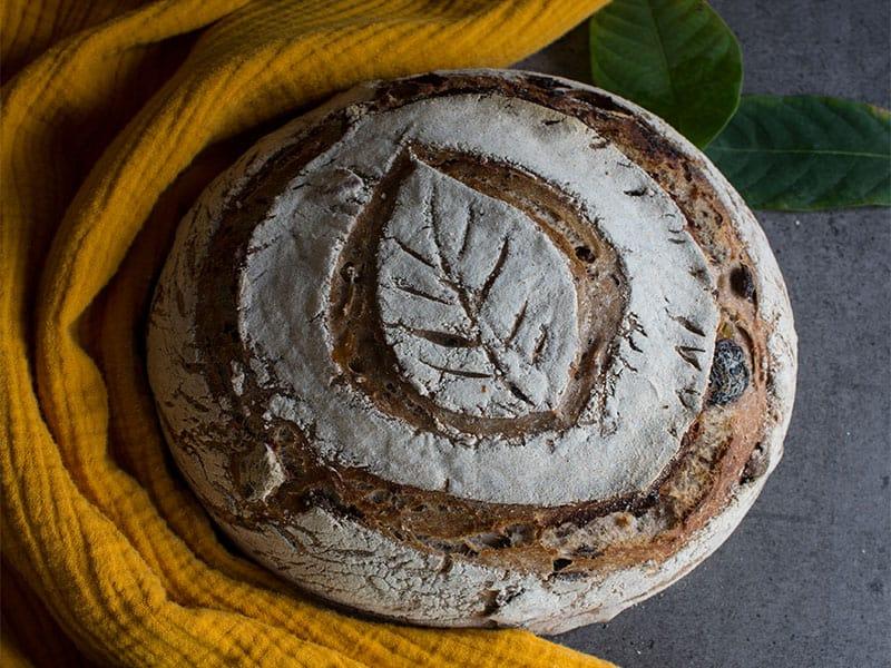 Bread Close Photo Round