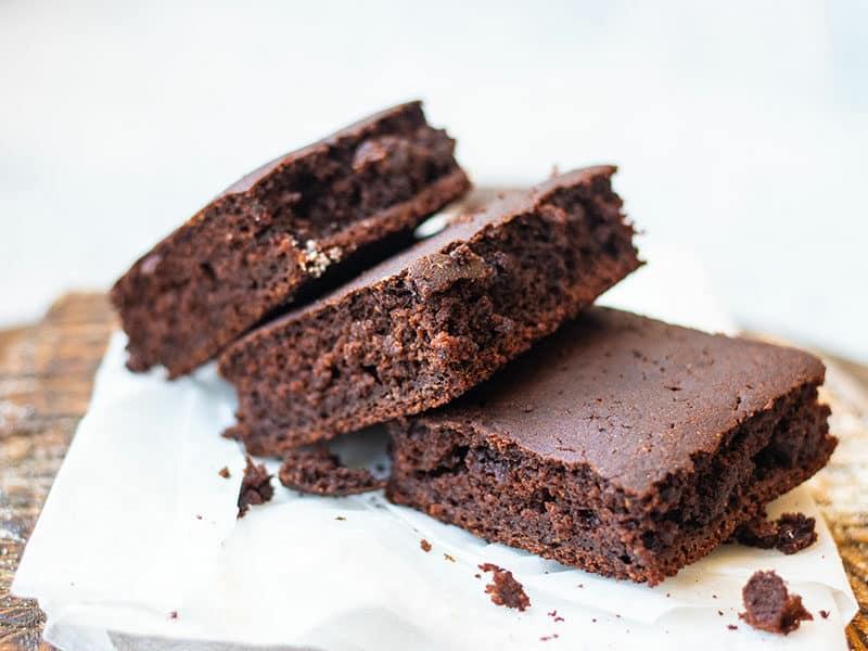 Brownies Denser Center The Cake