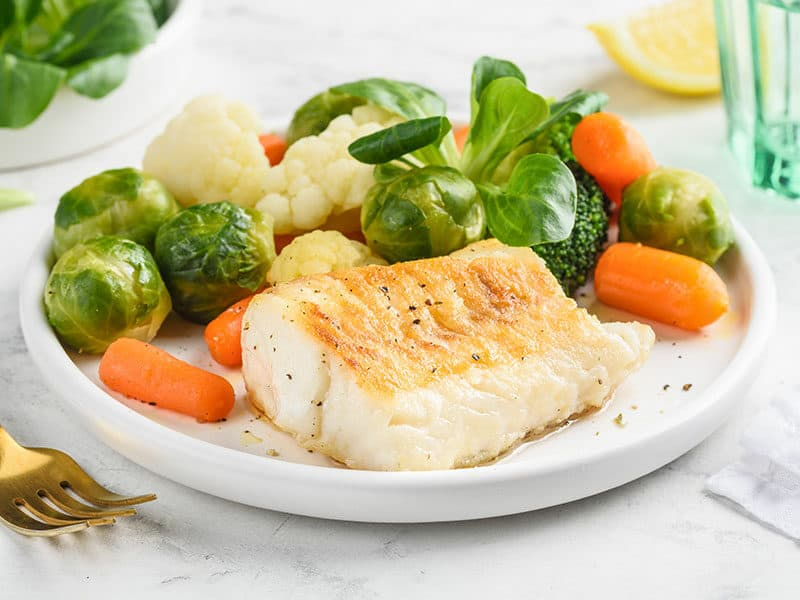 Brussels Sprouts Fish
