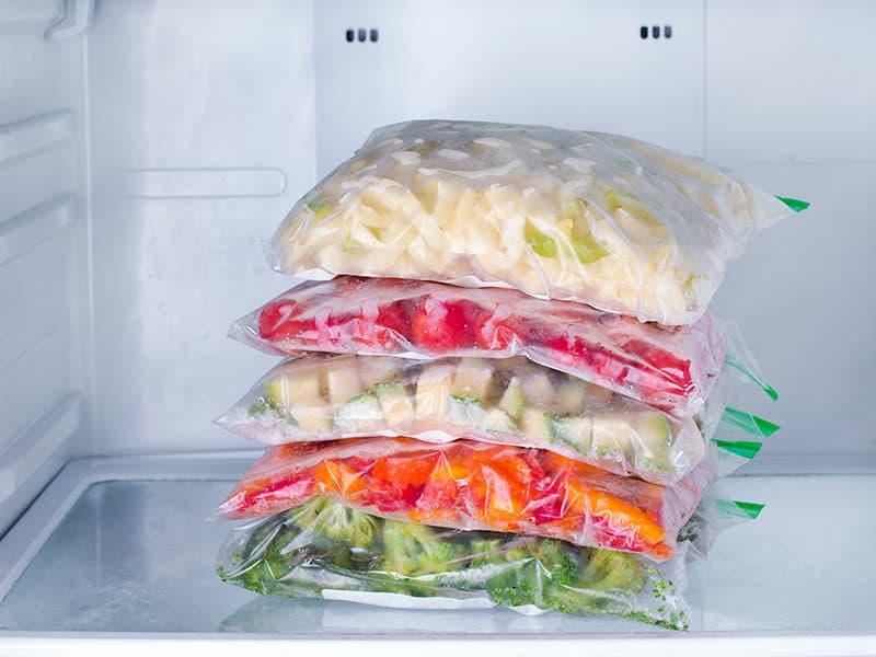 Cabbage in Freezer Bag