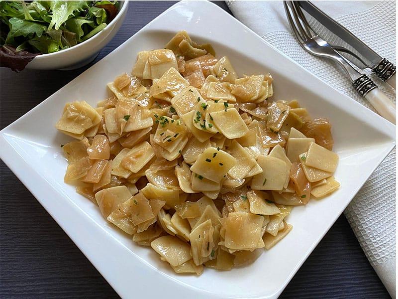 Cabbage Noodles Meatless