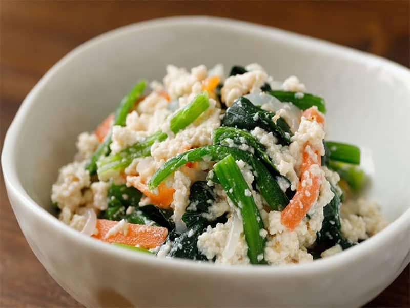 Carrot Mashed Tofu
