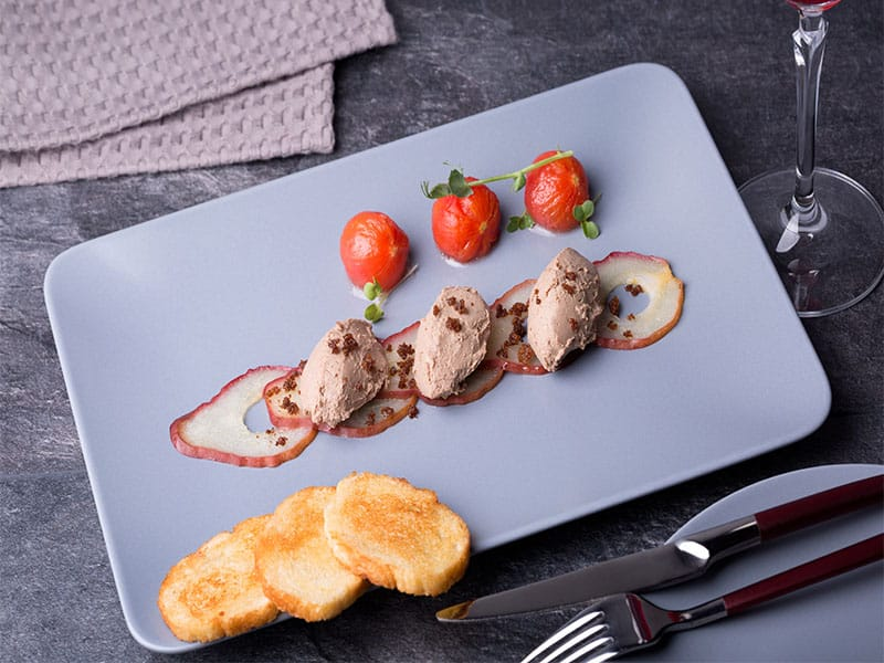 Chicken Liver Pate Quenelles