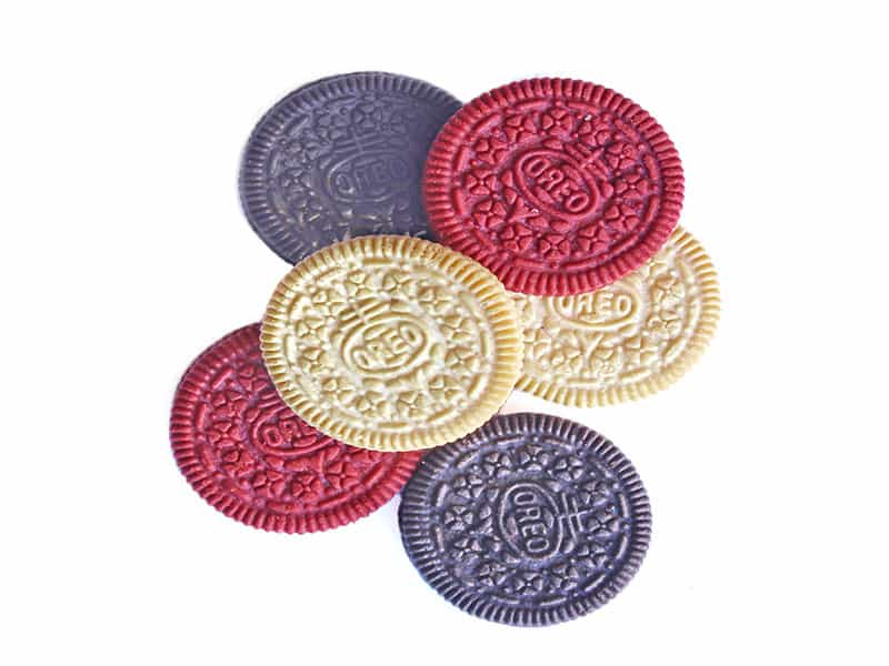 Colorful Oreo Biscuits
