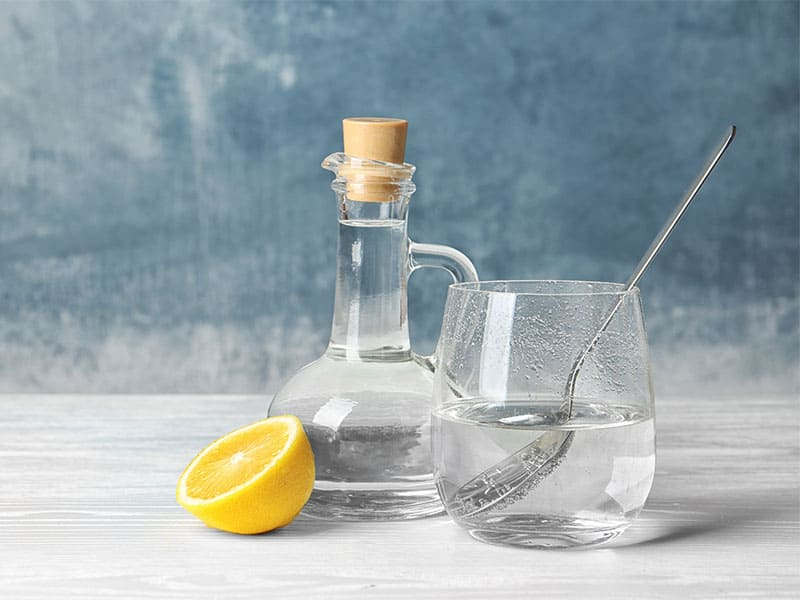 Composition Vinegar Lemon
